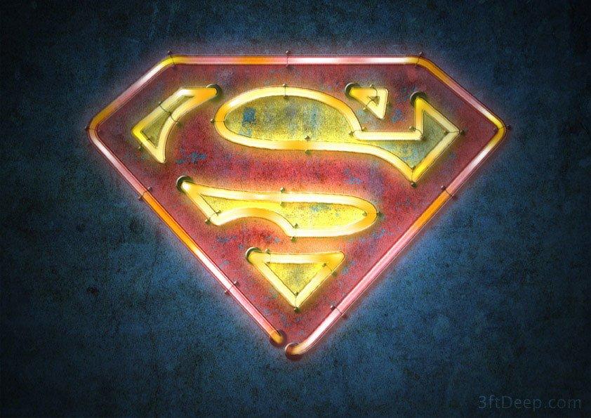 s3ftdeep_uperman_logo_neon_3ftdeep